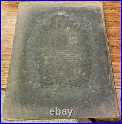 Antique Crams Unrivaled Family Atlas Of The World 1899 Edition
