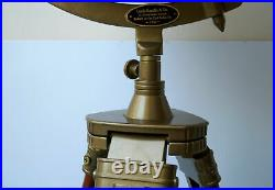 Antique nautical 18 big world globe map ornament with floor wooden tripod stand