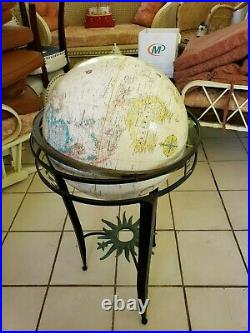 Pre-owned Replogle16 Diameter World Globe World Classic Series With Metal Stand