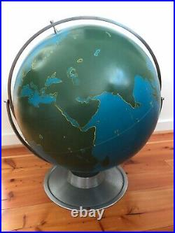 Vintage Aj Nystrom Globe Of The World (excellent Condition Overall)
