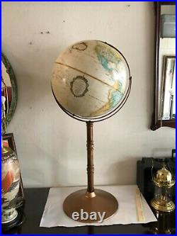 Vintage Globe 16 on stand dated between 1983 1986