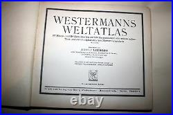 World Atlas by WESTERMANN, Historical-geo- and economic atlas of the WORLD, 1928
